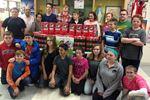 Wasaga students fill shoeboxes with Christmas spirit